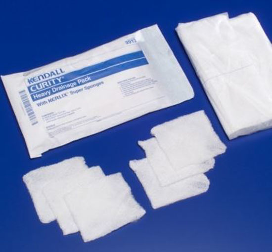 Picture of Curity™ Heavy Drainage Pack, Extra thick, Sterile