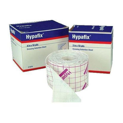 """Picture of Hypafix Non-Woven Fabric Dressing Retention Tape 4"""" x 11 yds."""