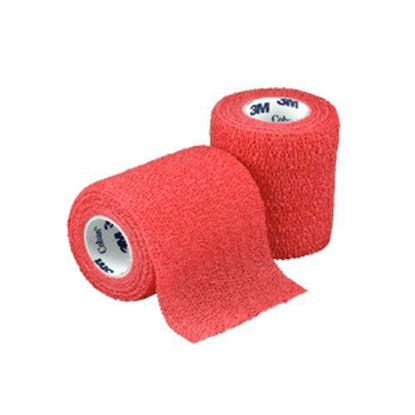 "Picture of Coban wrap, Red, 3"" x 5 yds, Latex, Sterile"