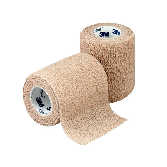 """Picture of Coban wrap,  3"""" x 5 yds - Tan, Sterile"""