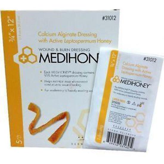 """Picture of Medihoney Calcium Alginate Dressing, 3/4"""" x 12"""" rope"""