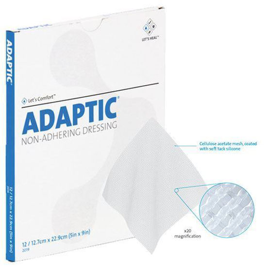 """Picture of Adaptic™ Non-Adhering Dressing, 3s, 3"""" x 8"""""""
