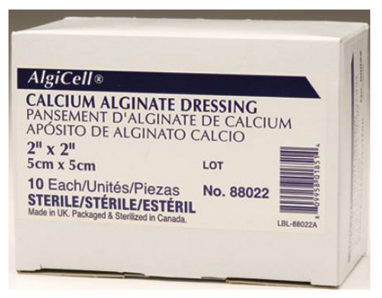 "Picture of Algicell Calcium Alginate Dressing 2"" x 2"""