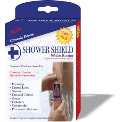 "Picture of Shower Shield Wound Dressing/Shower Cover 4"" X 4"", Latex-Free"