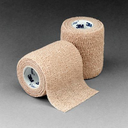"Picture of Coban Non-Sterile Self-Adherent Wrap 2"" x 5 yds., Tan"
