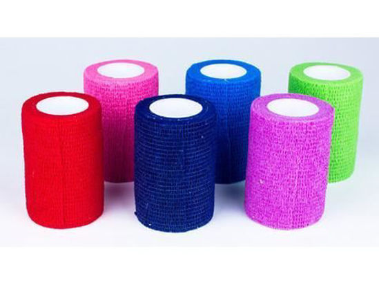 """Picture of Coban Non-Sterile Self-Adherent Wrap 3"""" x 5 yds., Color Assortment"""