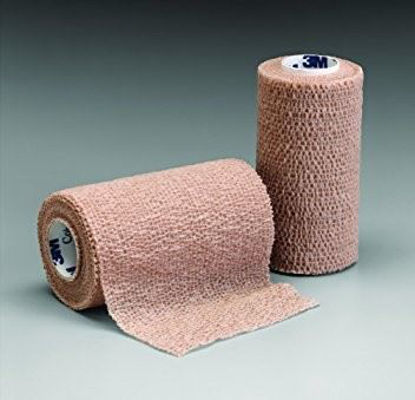 "Picture of Coban Non-Sterile Self-Adherent Wrap 3"" x 5 yds., Tan"
