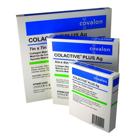 "Picture of ColActive Plus Collagen Dressing 2"" x 2"""