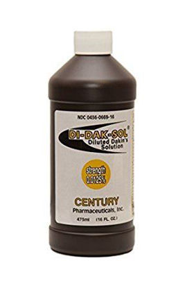 Picture of Dakin's Solution Quarter Strength 0.125% 16 oz. Bottle
