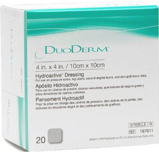 "Picture of DuoDERM Hydroactive Dressing 4"" x 4"""