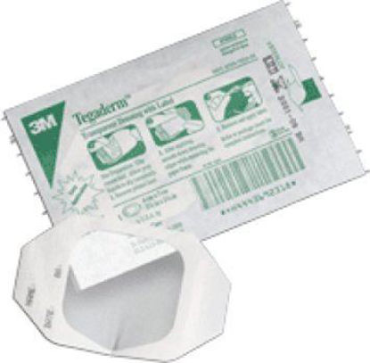 """Picture of Tegaderm Transparent Adhesive Film Dressing Frame Style 4"""" x 10"""""""