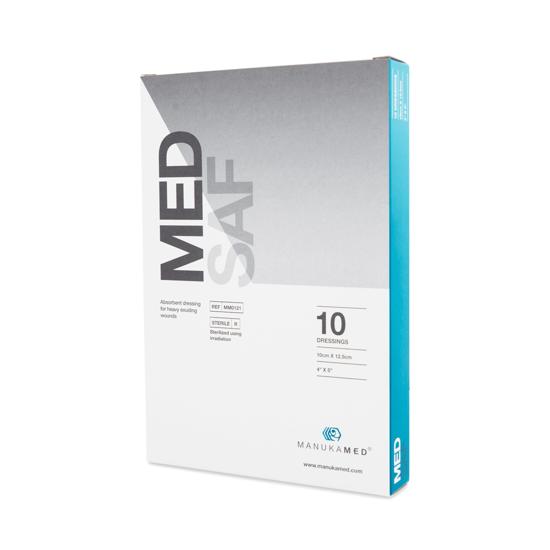 """Picture of ManukaMed MedSaf, 4"""" x 5"""""""